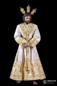 Presentación túnica del Señor de la Paz