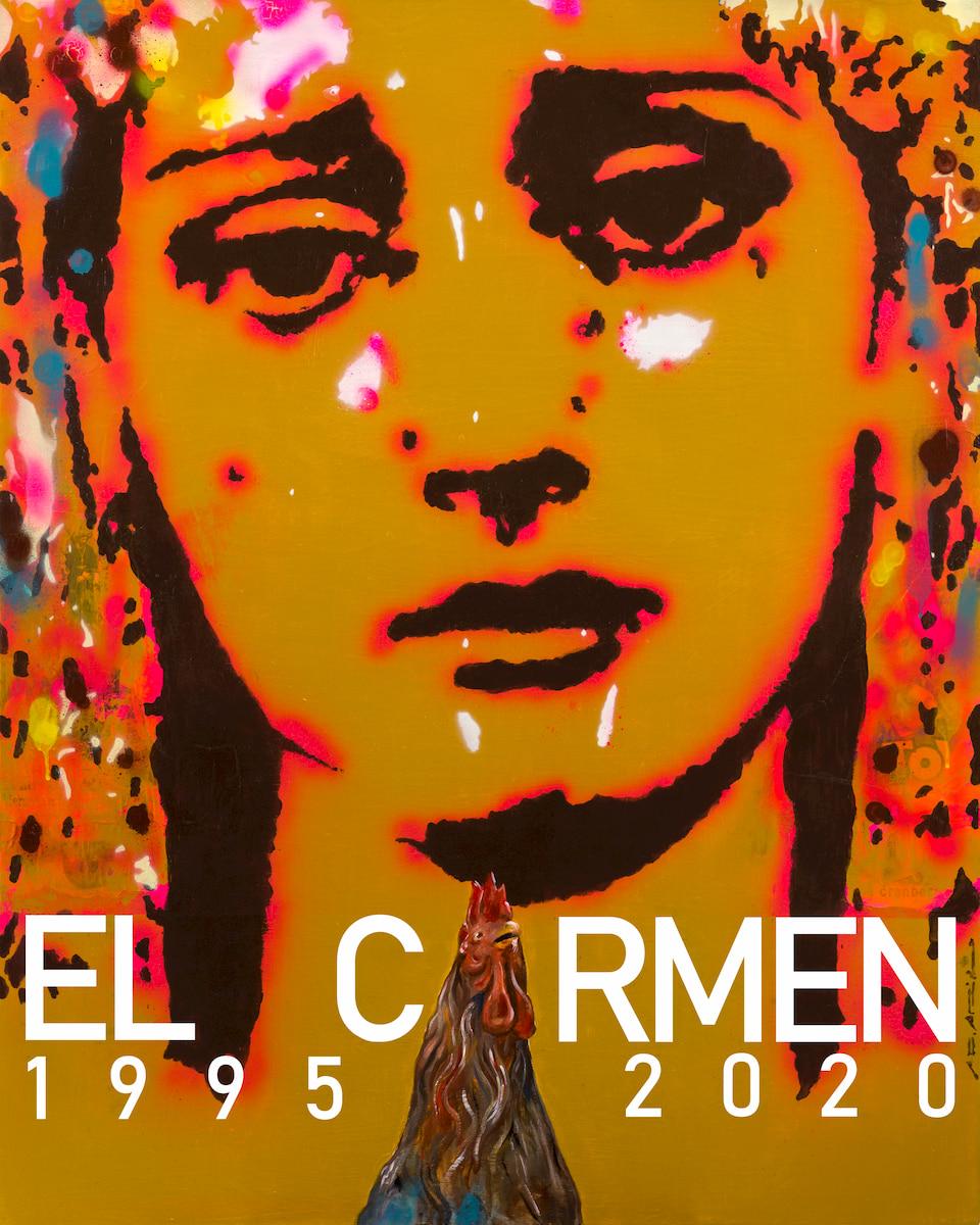 Cartel del XXV aniversario Hermandad del Carmen