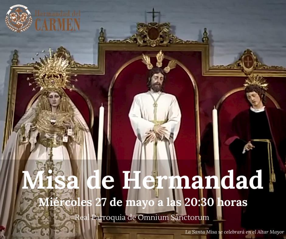 Misa de Hermandad Mayo 2020