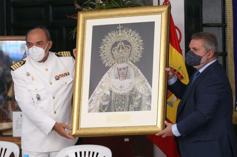 Cuadro de la Virgen del Carmen