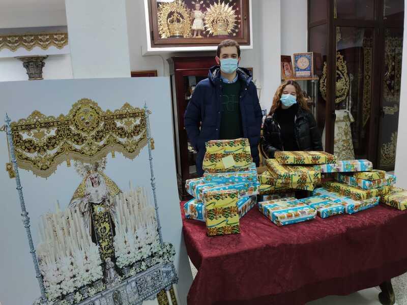 Juguetes para el Convento de Santa Isabel y familias atendidas
