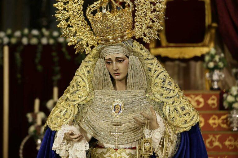 Nuevo broche para la Virgen del Carmen
