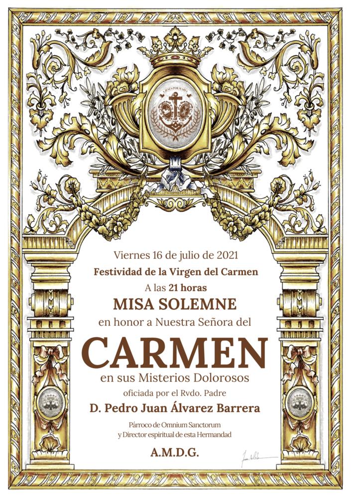 Misa Solemne Virgen del Carmen